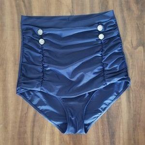 Other - High Waisted  Bikini Bottom Size XL
